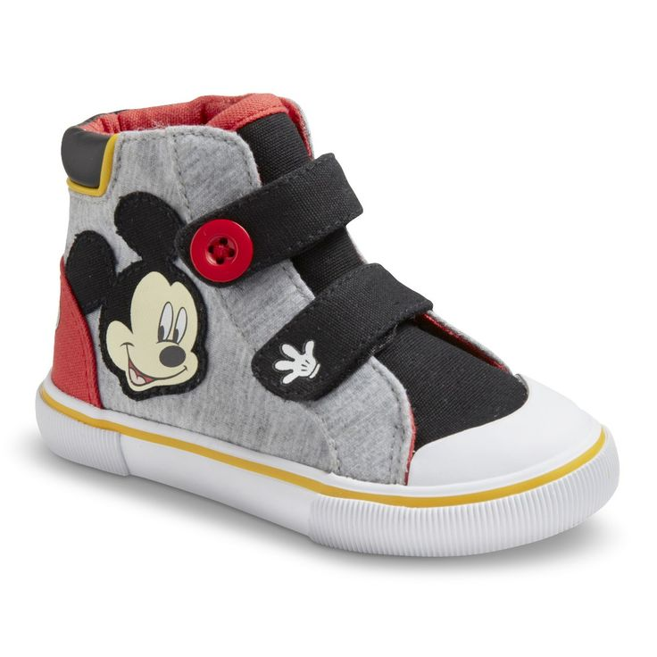 Toddler Boy S Disney Mickey Mouse Sneakers Grey Mr Cam