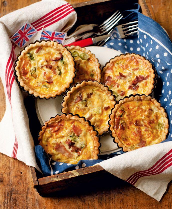 RECIPE : Bacon & Egg Tartlets   Cath Kidston  