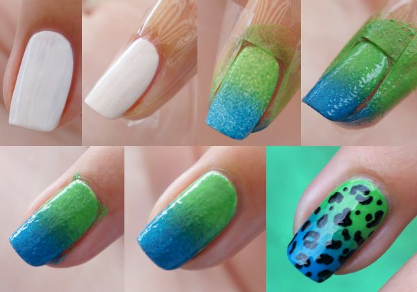 DIY Nail Art | Versace By H Inspired ~ Beautyill | Beautyblog met nail art, nagellak, make-up reviews en meer!