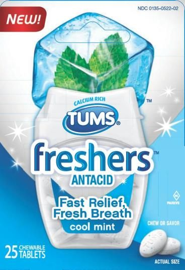 $1.50 OFF ONE (1) Tums Chewy Delights or Tums Freshers coupon