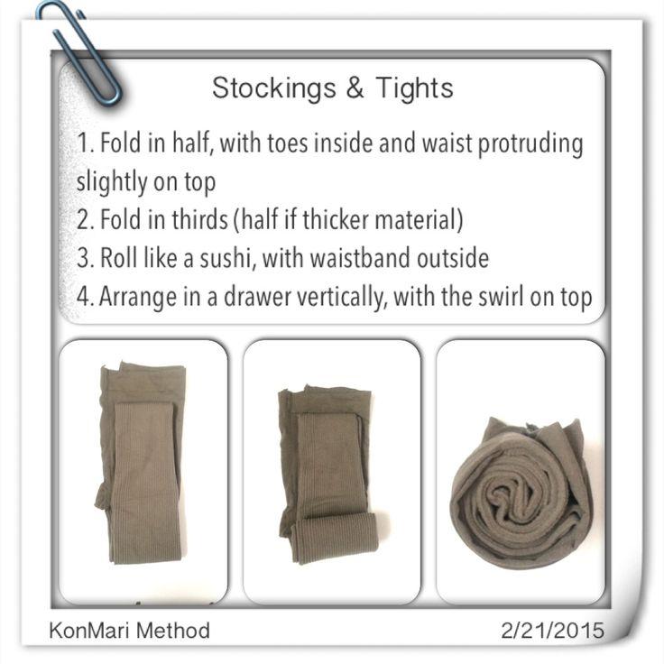 KonMari Method: Stockings & Tights