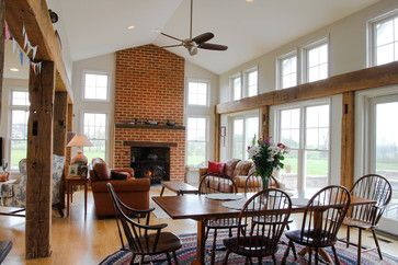 Dillsburg Residence - farmhouse - Dining Room - Other Metro - Roost Architecture Inc