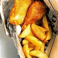 Wermlands Fish and Chips med Tartarsås