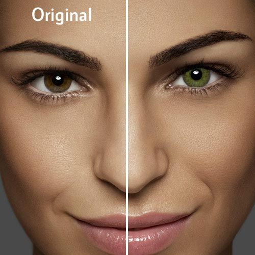 Air Optix COLORS in Gemstone Green #contacts #greeneyes