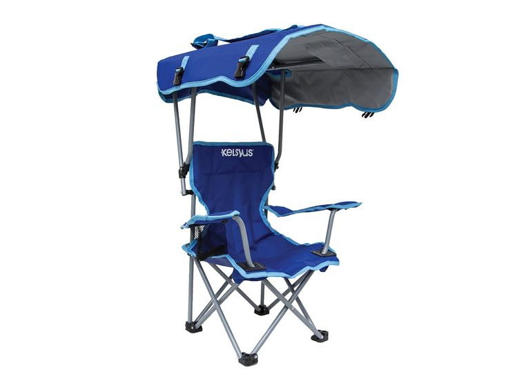 The Kelsyus Kids Canopy Chair Is A Portable Outdoor Camping Folded Down And Closed Becomes Carry Bag With Durable Snap Lock