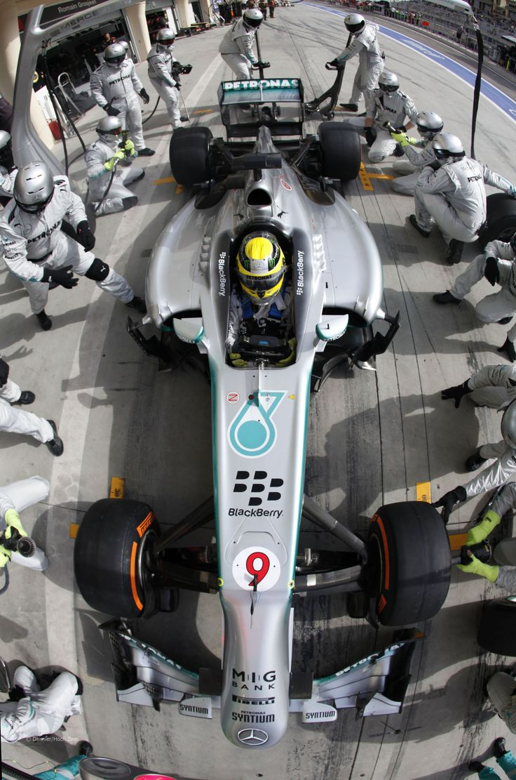 Nico Rosberg, Mercedes, Bahrain International Circuit, 2013