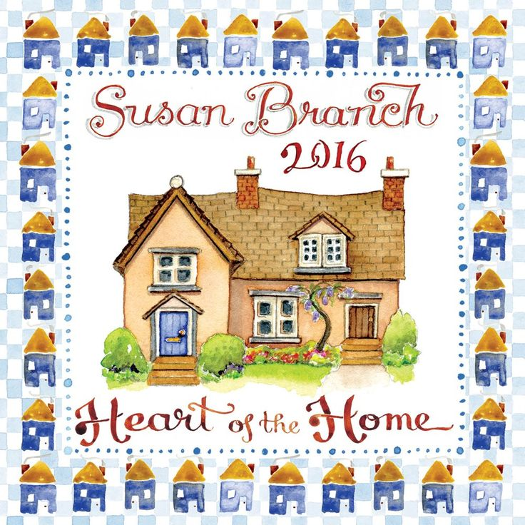 Art Calendar Book : Susan branch mini calendar