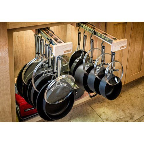 Have to have it. Glideware Pot&Pan Rack - $175 @hayneedle