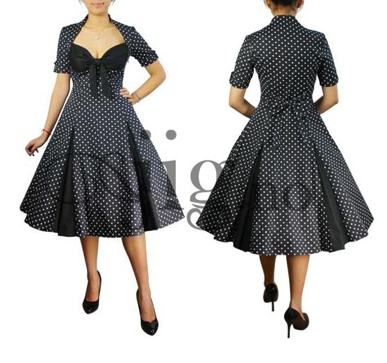 Jeg TRENGER en slik kjole ;D  http://www.jig.no/products/polkadot-swingkjole-i-svart