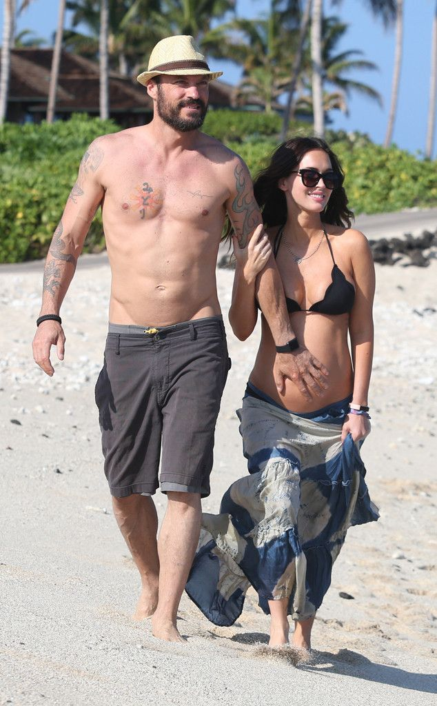 Pregnant Megan Fox and Brian Austin Green Enjoy a Beachy Babymoon in Hawaii | E! Online