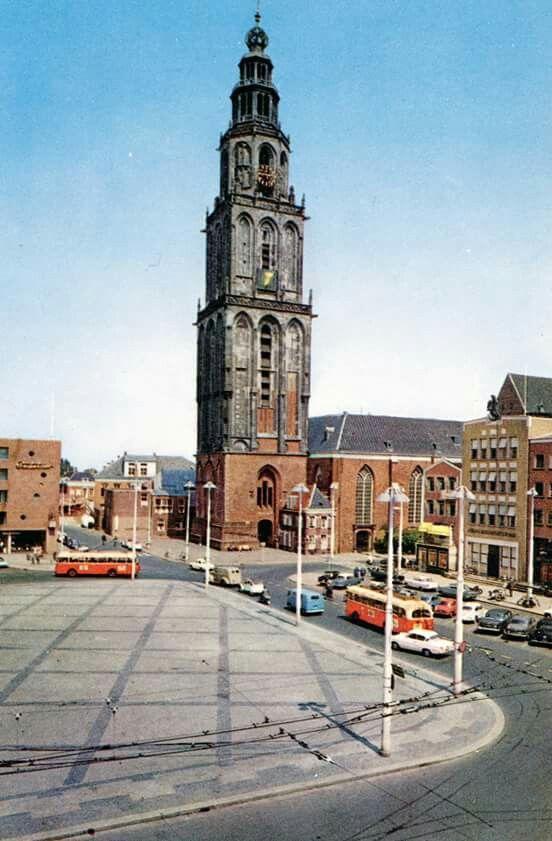 Grote Markt Groningen 1961