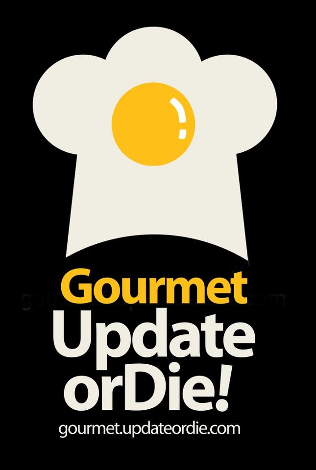 This would be a cool logo for a breakfast restaurant (just change the chef hat to something else?)