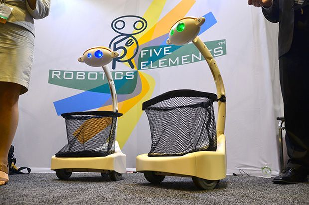 Shop 'til you drop with Budgee robotic basket via @CNET