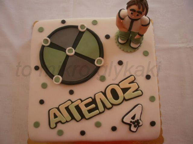 Ben ten cake