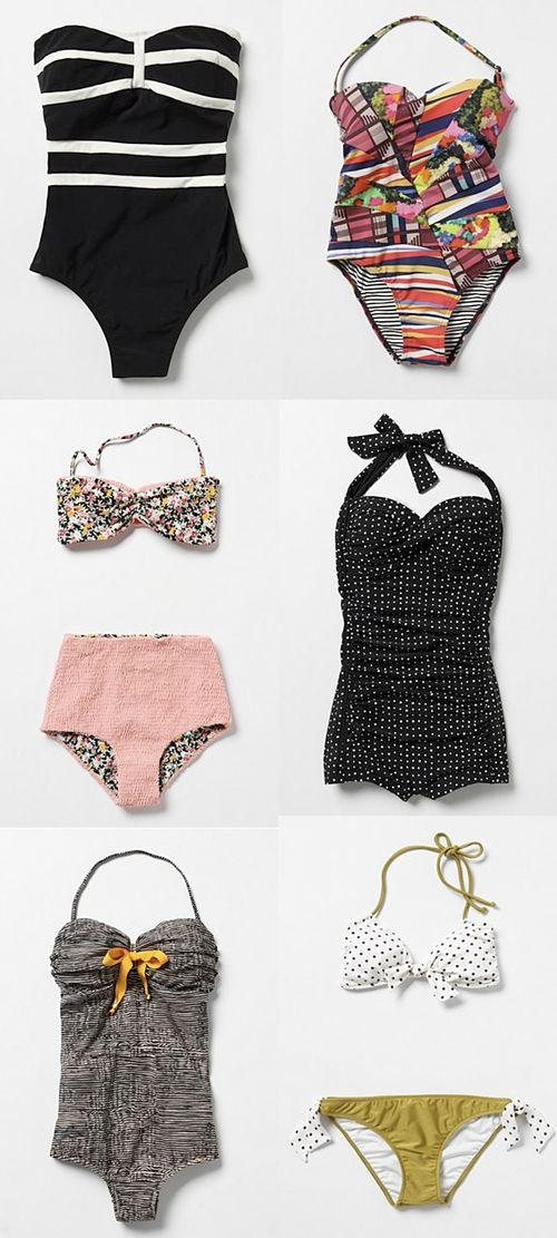 anthropologie swimsuits