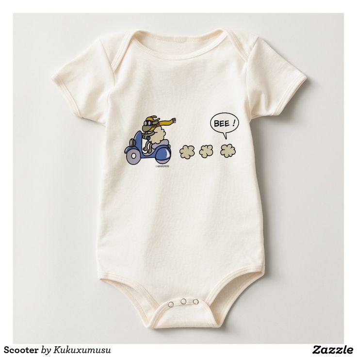 Scooter. Baby, bebé. Producto disponible en tienda Zazzle. Vestuario, moda. Product available in Zazzle store. Fashion wardrobe. Regalos, Gifts. #camiseta #tshirt