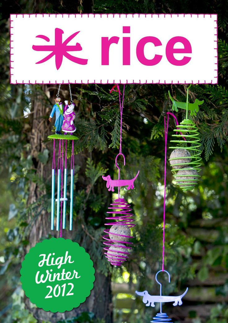 RICE High Winter 2012  Each season has its charm... It is just about finding it and enjoying it.. We are happy to welcome you into our High Winter world….a world that allow you to add a splash of color to your daily routines and brighten up those long dark winter nights.