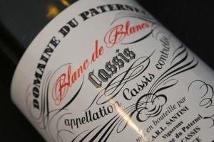 Exemple de Vin blanc de Cassis à déguster durant votre location vacances Cassis