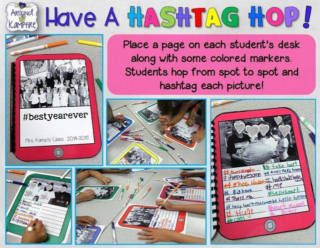 Hashtag Memory Book For Teachers Templates Classroom
