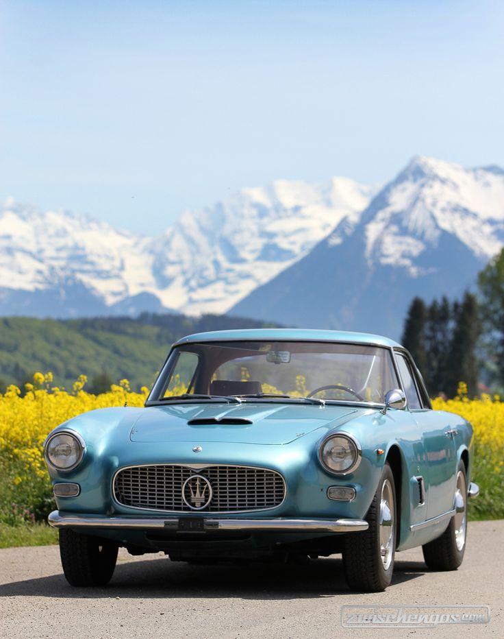 Maserati 3500 GTI (1965) - eine elegante Erscheinung Unser Bericht & 80 weitere Bilder: https://www.zwischengas.com/de/FT/fahrzeugberichte/Maserati-3500-GTI-klassischer-Gran-Turismo-mit-Dreizack.html?utm_content=buffer25175&utm_medium=social&utm_source=pinterest.com&utm_campaign=buffer  Foto © Bruno von Rotz