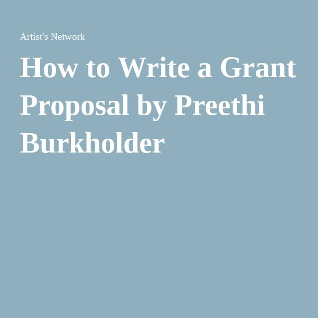 how to write a business proposal for funding