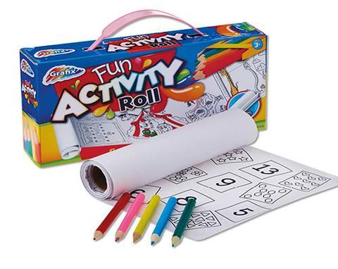 Activity Roll & Pencils - Natalie's Gifts & Homewares
