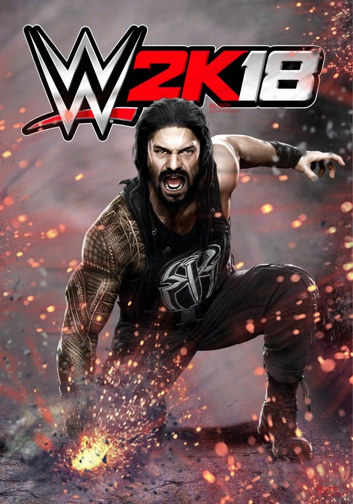 WWE_2K18 (2019) psp game version for android using ppsspp