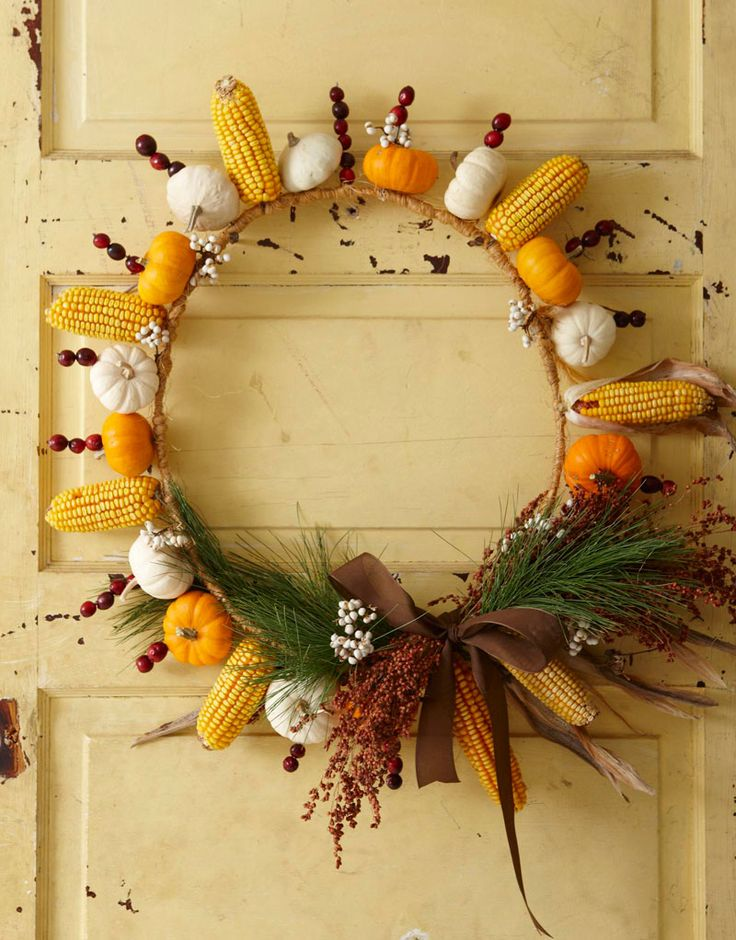 gourds and corn fall wreath welcome fall with this natural wreath fashioned from an old wire tomato cage and adorned with seasonal vegetables fruits