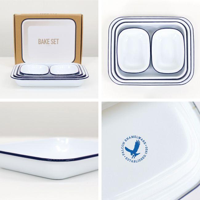 FALCON ファルコン|BAKE SET(WHITE) | キッチン/テーブルウェア | | CDC general store