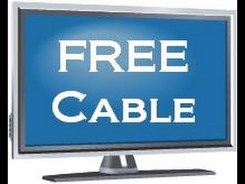 How to get FREE CABLE with ZERO monthly cost - No gimmicks - No sign up ...by purchasing an antenna that you can install anywhere.