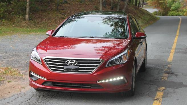 The 2015 Hyundai Sonata Limited. (TODD GILLIS PHOTOS)