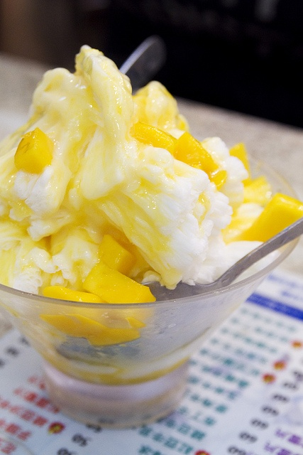 Mango shaved ice~