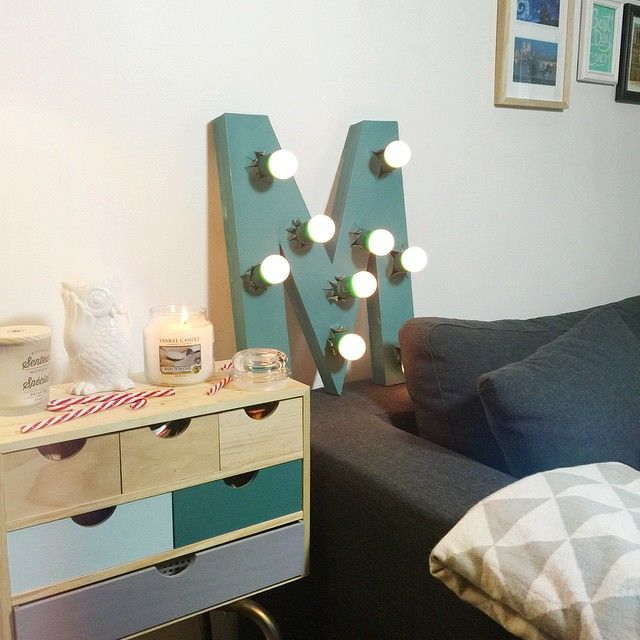 lettre lumineuse future d co pinterest lettres lumineuses lettres et d co. Black Bedroom Furniture Sets. Home Design Ideas