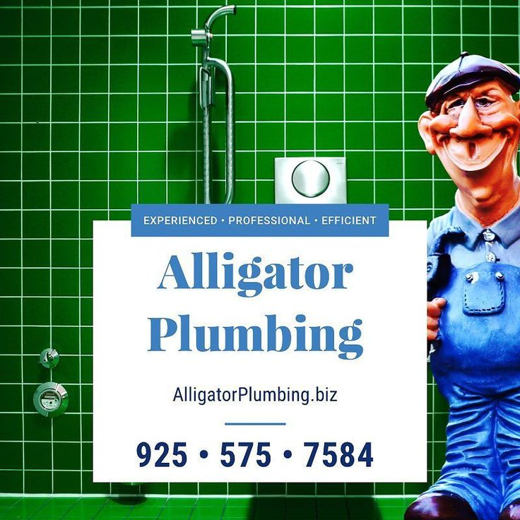 Dealing with plumbing problems has never been so easy. Call Alligator Plumbing 925-575-7584.  #Plumber #Plumbing #Sewer #Repairs #Leaks #Drains #Pipes #AlligatorPlumbing