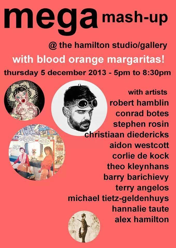 Mega Mash-up Exhibition - Alex Hamilton Studio Gallery - 5 December 2013