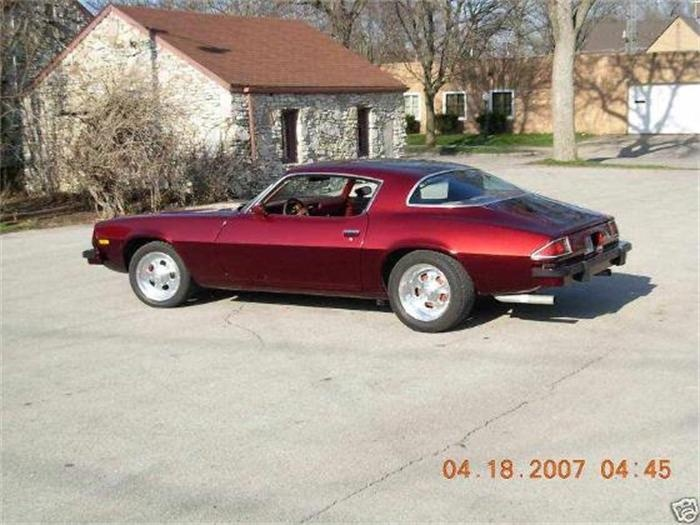1977Camaro...i actually OWNED a '76' camaro w/ black vinyl hood, in burgundy...miss it a LOT.