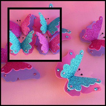 m s de 25 ideas fant sticas sobre mariposas en goma eva en