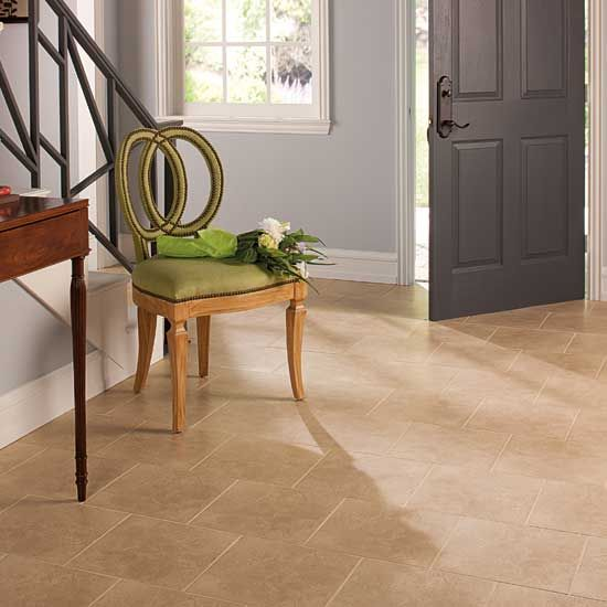 Best 12X12 Tile Laid In Brick Pattern Family Room Remodel 400 x 300