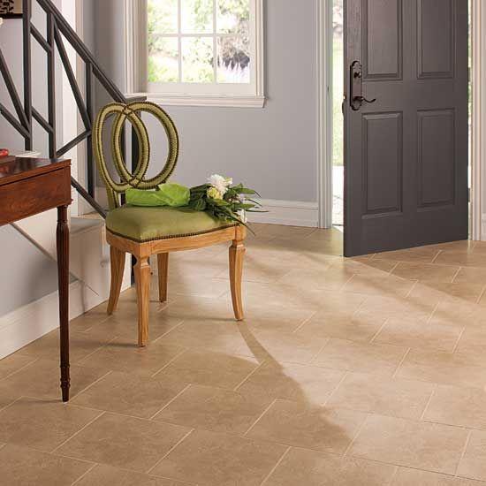 clean tile floor treatment for bathroom floor | 12x12 tile laid in brick pattern | Cleaning tile floors ...