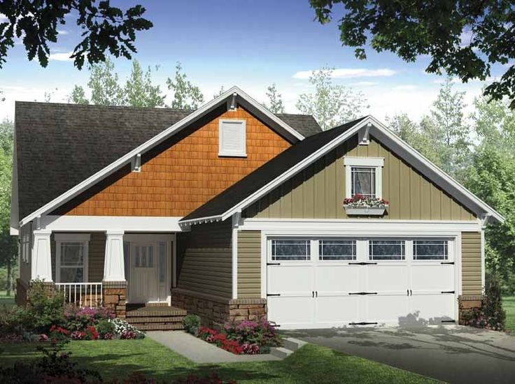 Best House Plans Images On Pinterest House Floor Plans - Craftsman style narrow house plans