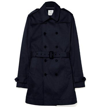 MARCS - MATCHLESS COTTON TRENCH - Navy