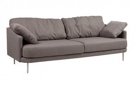 Диван Camber Sofa Большой Серо-коричневый