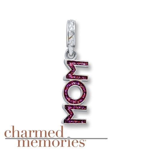 Kays Charm Bracelets: Charmed Memories Mom Charm Sterling Silver From Kay