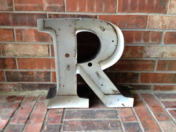 Big Aluminum Letters Prepossessing Best 25 Large Metal Letters Ideas On Pinterest  Metal Letters Inspiration