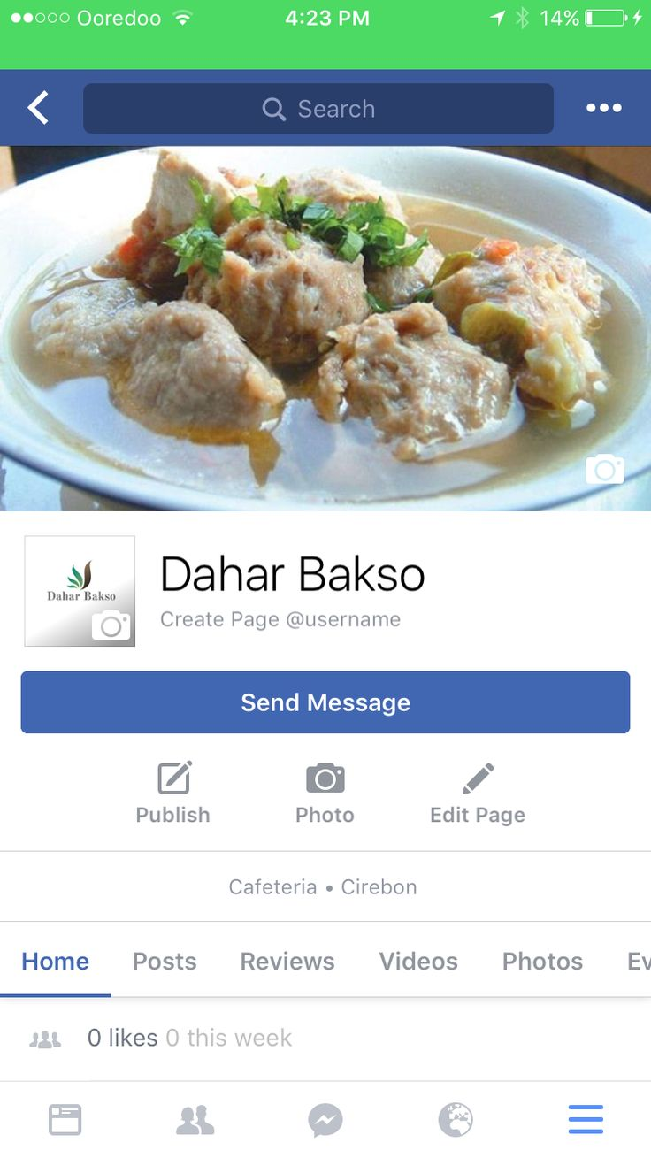 Facebook page created😊