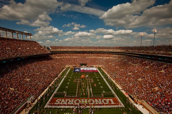 University of Texas Football Game--must take Marty to experience