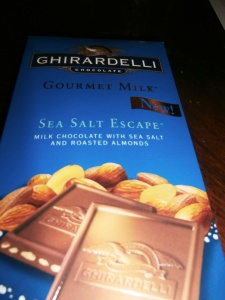 Sea salt and chocolate - best combo ever!