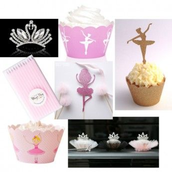 Ballerina party supplies - Lifes Little Celebration