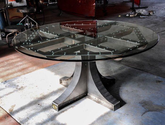 25 best ideas about table ronde en verre on pinterest table ronde en bois la table ronde and. Black Bedroom Furniture Sets. Home Design Ideas