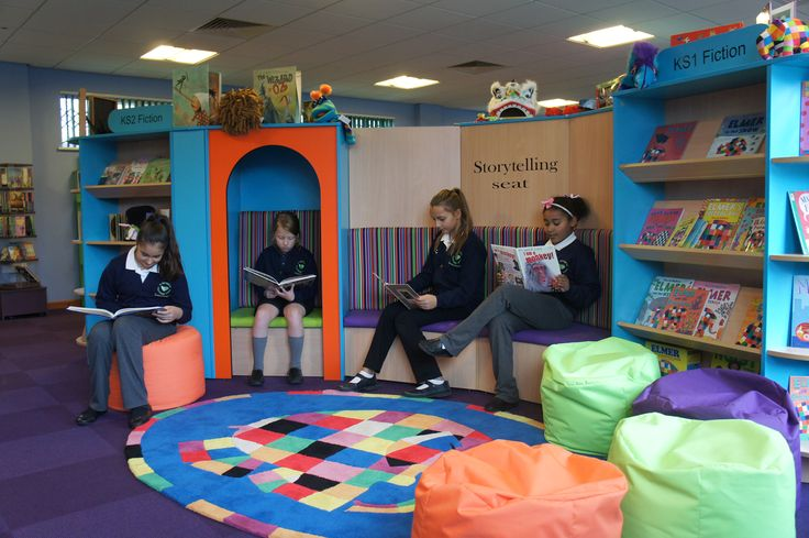 A School Library created by Incube Ltd for St Matthew's C of E Primary School